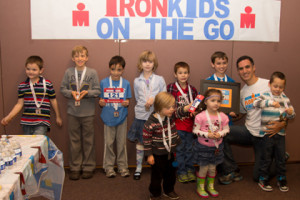 IronKids celebrate with Dr Takla