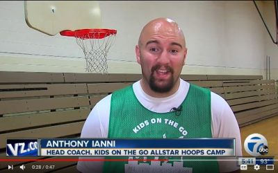 Allstar Hoops Camp on Channel 7 News