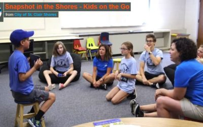 Snapshot in the Shores – Kids on the Go