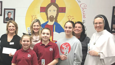 Kids on the Go the winner in St. Isaac Jogues penny wars