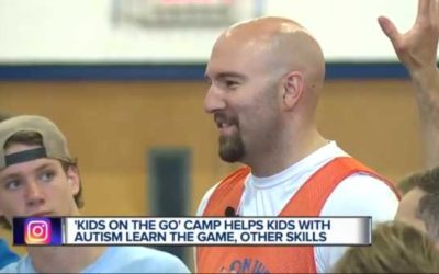 Ianni hosts basketball camp for kids with autism