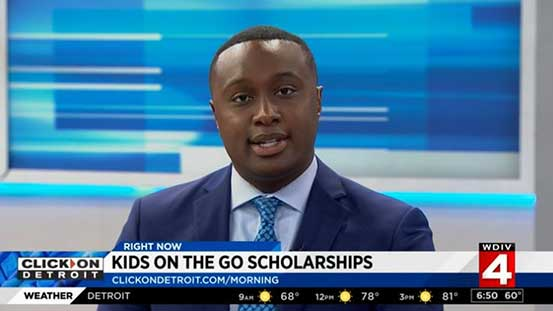 Thank you Evrod Cassimy/WDIV for featuring Kids On The Go